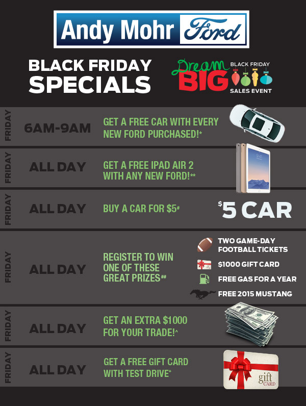 Ford Black Friday Sale