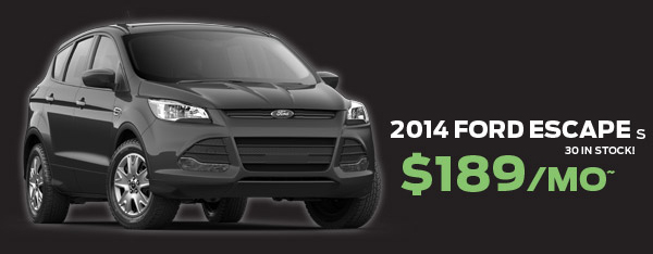 2014 Ford Escape $189/mo